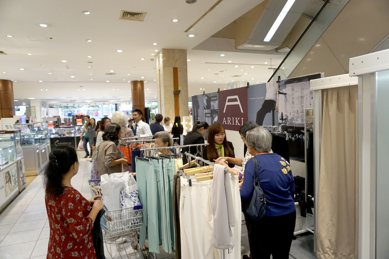 伊勢丹バンコクのジャパンフェアに出店(1階)