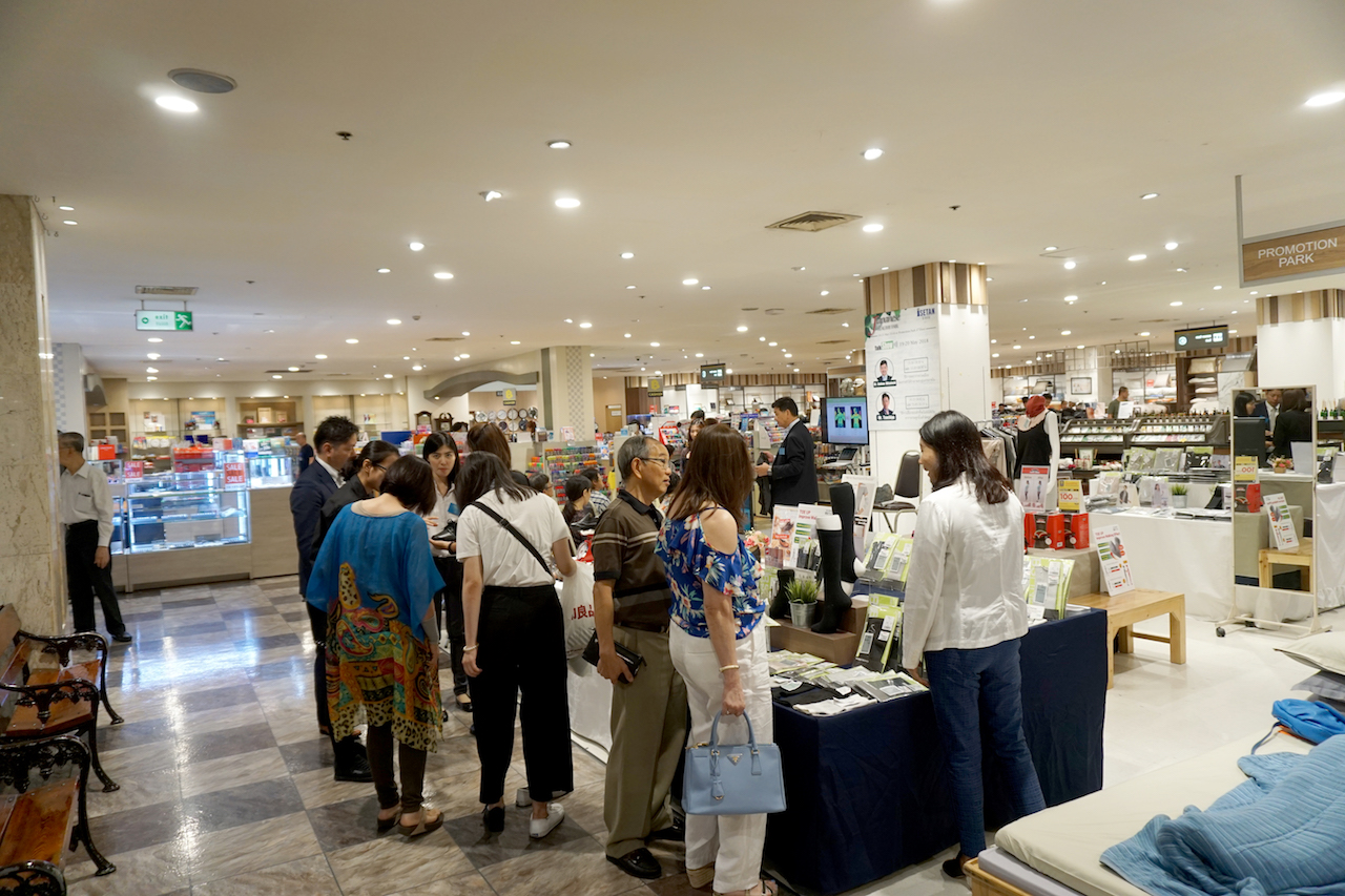 伊勢丹バンコクのジャパンフェアに出店(4階)